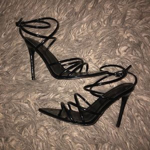 Black Fashion Nova Heel